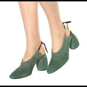 c64ba92b23 Dries Van Noten Shoes - Dries Van Noten Suede sling-back pumps, 38